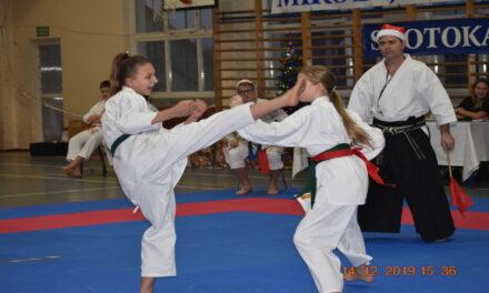 """Mikołajkowy Turniej Karate """"Fudokan"""""""