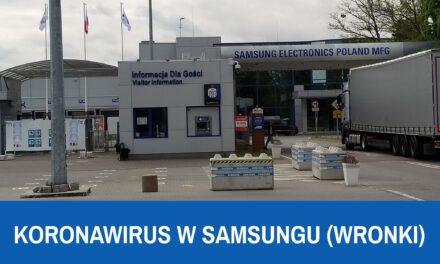 COVID-19 w Samsung Wronki