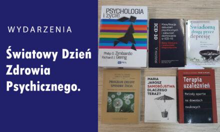 Światowy Dzień Zdrowia Psychicznego.