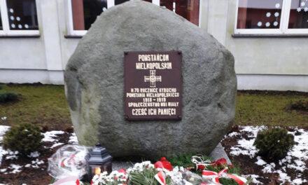 W Miałach oddano hołd Powstańcom Wielkopolskim.