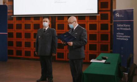 Kpt. Mariusz Przybył powołany na stanowisko Dyrektora Zakładu Karnego we Wronkach