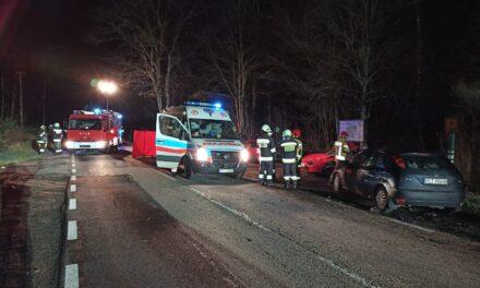 Wypadek śmiertelny na trasie Wieleń-Kuźniczka