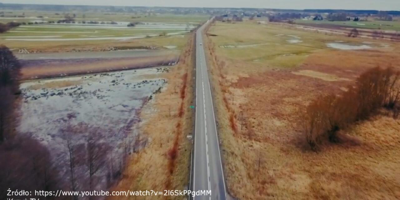 Będzie Bezpieczniej droga rowerowa Krzyż – Drawsko video