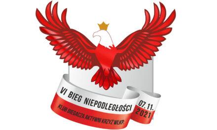 VI Bieg Niepodległości w Krzyżu Wielkopolskim